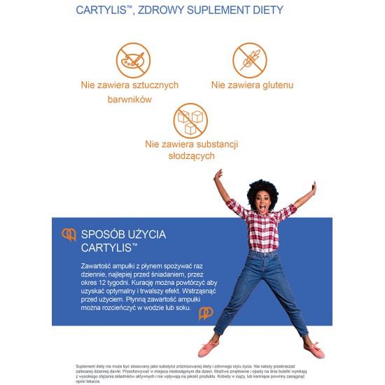 CARTYLIS Płynny supplement diety dla wzmocnienia stawów